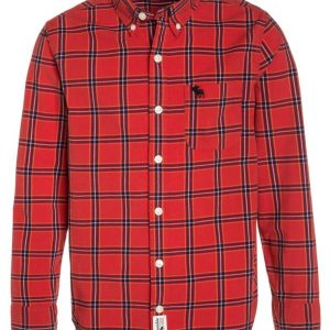 Abercrombie & Fitch Camisa informal red