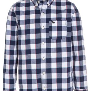 Abercrombie & Fitch Camisa informal navy
