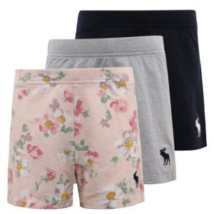 Abercrombie & Fitch TUMBLE SHORTS 3 PACK Culotte multi color pack