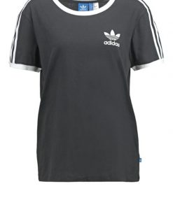adidas Originals 3STRIPES  Camiseta print black