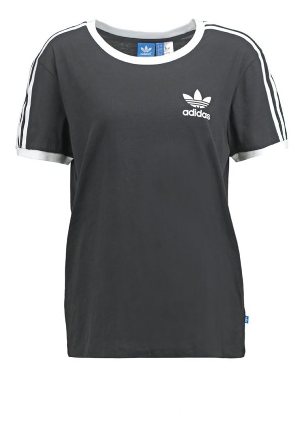 adidas Originals 3STRIPES  Camiseta print black