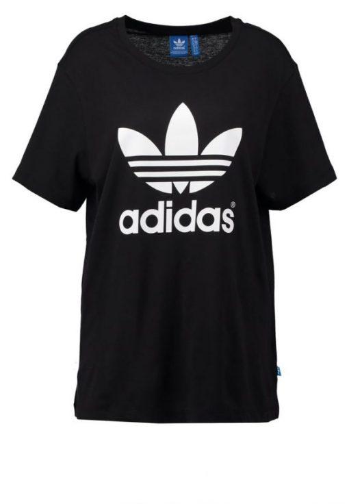 adidas Originals BOYFRIEND TREFOIL Camiseta print black