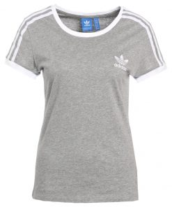 adidas Originals SANDRA 1977 Camiseta print medium grey