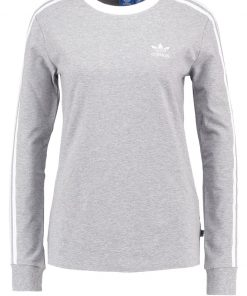 adidas Originals Camiseta manga larga medium grey heather