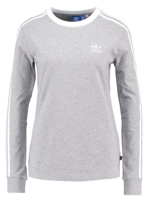 adidas Originals Camiseta manga larga medium grey heather