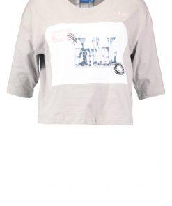 adidas Originals INFO POSTER Camiseta print sesame