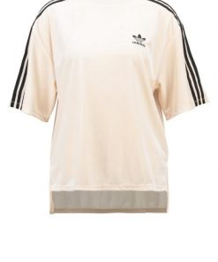 adidas Originals BRKLYN HEIGHT  Camiseta print beige