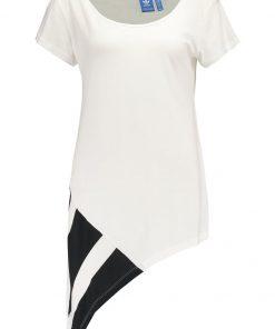 adidas Originals EQT BLOCK  Camiseta print white/black