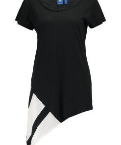 adidas Originals EQT BLOCK  Camiseta print black/white