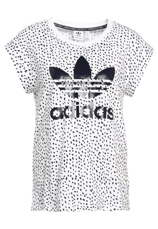 adidas Originals ROLL UP Camiseta print white/legink