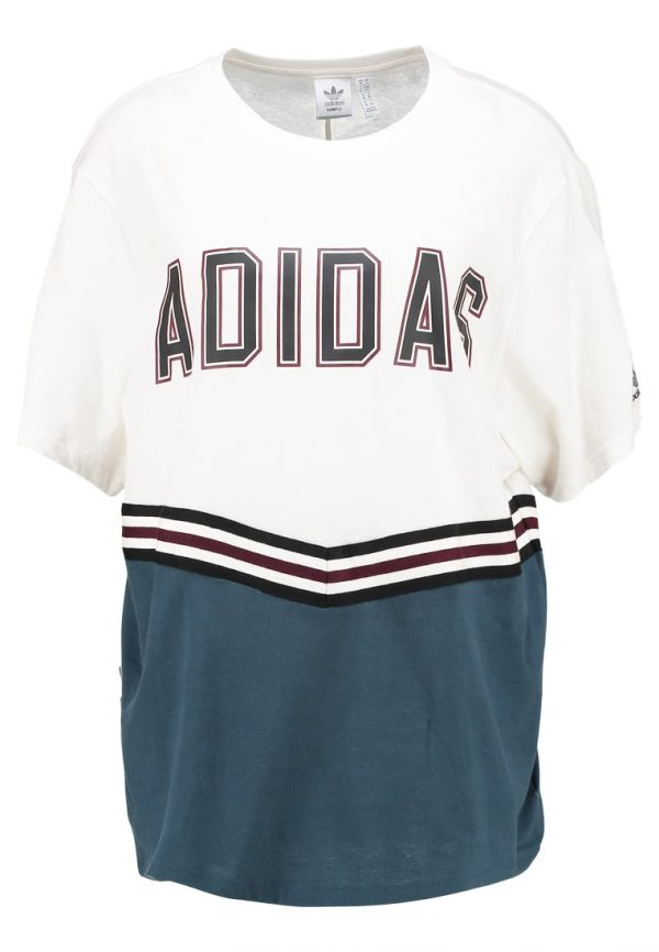 adidas Originals ADIBREAK TEE Camiseta print chalk white