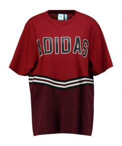 adidas Originals ADIBREAK TEE Camiseta print collegiate burgundy