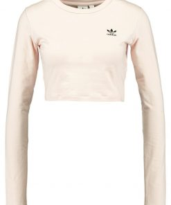 adidas Originals CROP Camiseta manga larga offwhite