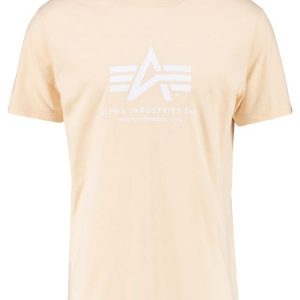 Alpha Industries Camiseta print caramel