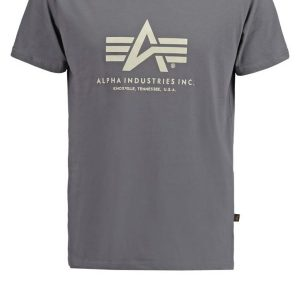 Alpha Industries Camiseta print grey/black