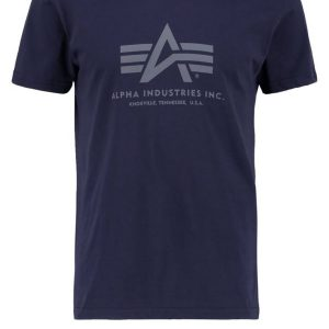 Alpha Industries Camiseta print rep blue