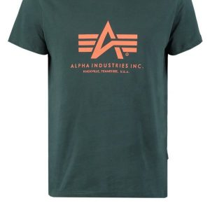 Alpha Industries Camiseta print dark petrol