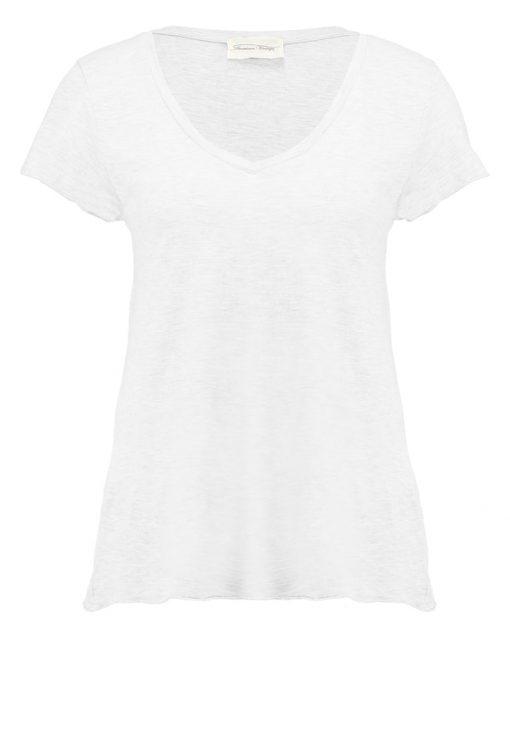 American Vintage Camiseta básica blanc