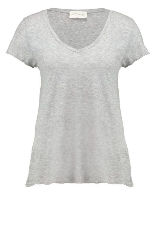 American Vintage Camiseta básica gris chine