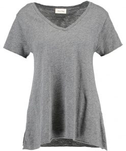 American Vintage Camiseta básica anthracite chine
