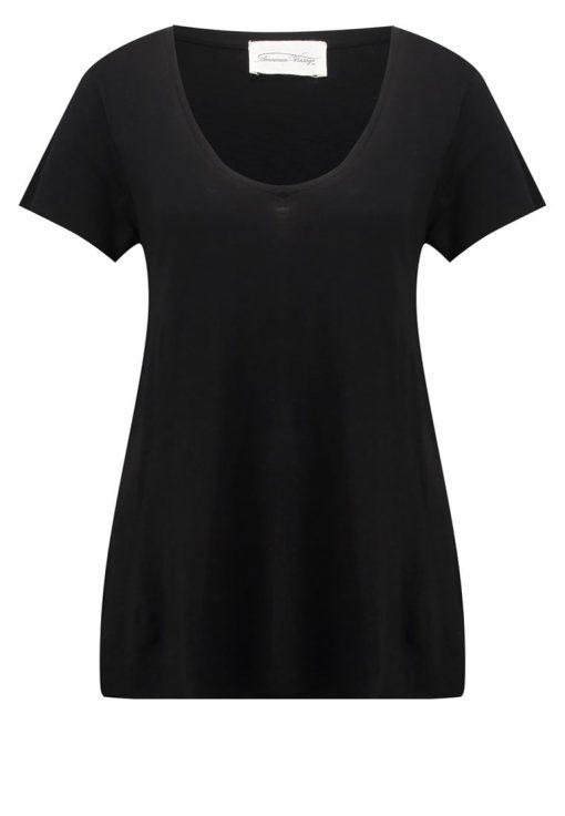 American Vintage Camiseta básica noir