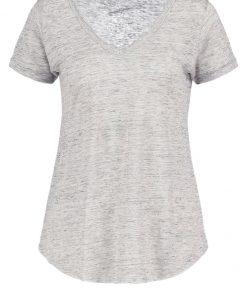 American Vintage QUINCY Camiseta básica heather grey