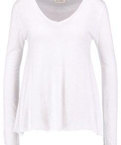 American Vintage JACKSONVILLE Camiseta manga larga blanc