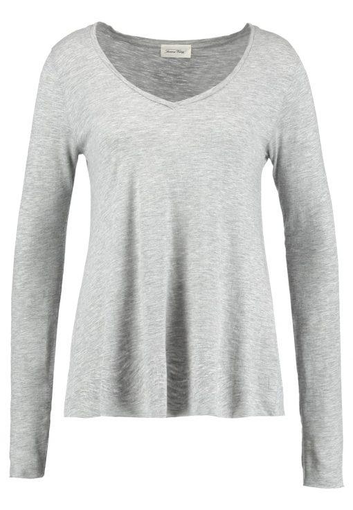American Vintage JACKSONVILLE Camiseta manga larga gris chine