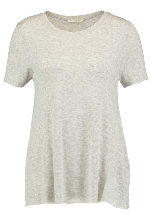 American Vintage ALBAVILLE Camiseta básica gris chine