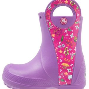 Crocs HANDLE IT GRAPHIC  Botas de agua amethyst