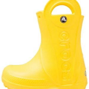 Crocs HANDLE IT RAIN BOOT KIDS Botas de agua yellow