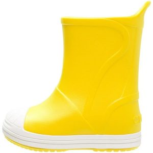 Crocs BUMP IT  Botas de agua yellow/oyster
