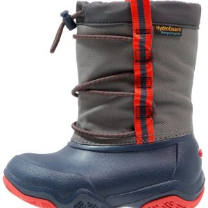 Crocs SWIFTWATER WATERPROOF  Botas de agua navy/flame