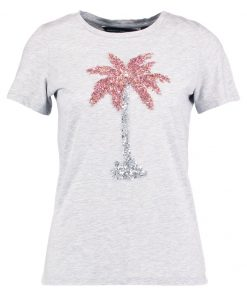 Dorothy Perkins PALM Camiseta print grey