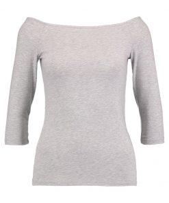 Dorothy Perkins BASIC BARDOT Camiseta manga larga grey
