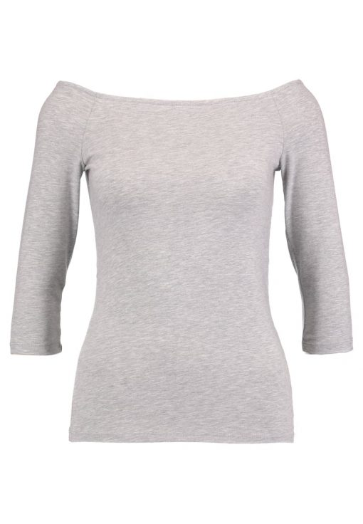 Dorothy Perkins BASIC BARDOT Camiseta manga larga grey