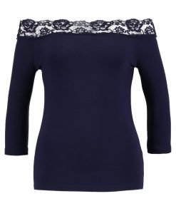 Dorothy Perkins Camiseta manga larga navy blue