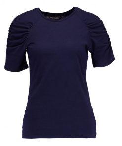 Dorothy Perkins RUCHES Camiseta print navy blue
