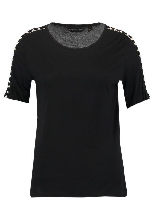 Dorothy Perkins PEARL TRIM Camiseta print black