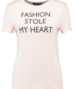 Dorothy Perkins FASHION STOLE MY HEART  Camiseta print peach