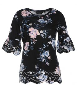 Dorothy Perkins Camiseta manga larga black