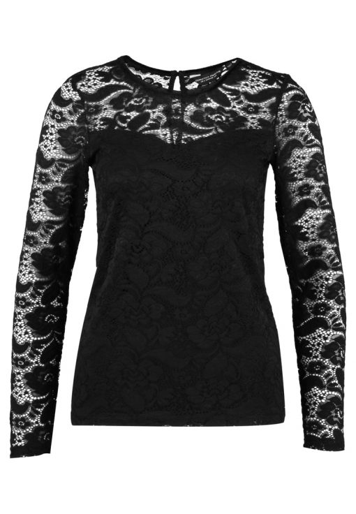 Dorothy Perkins BOW BACK Blusa black