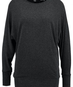 Dorothy Perkins SOFT TOUCH Camiseta manga larga charcoal