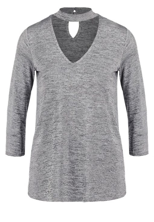 Dorothy Perkins Camiseta manga larga metallic
