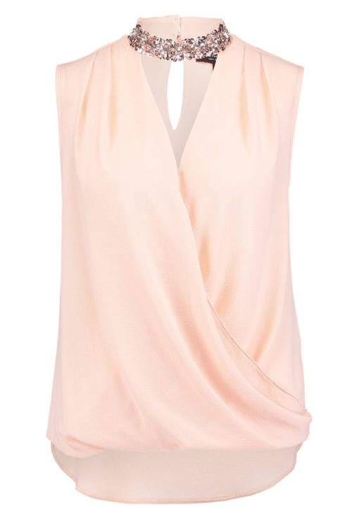 Dorothy Perkins CHOKER Blusa blush