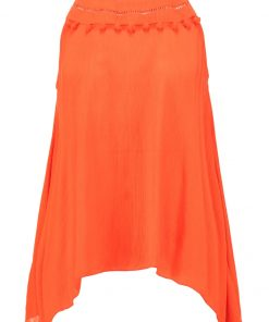 Dorothy Perkins POMPOM HANKY Top orange