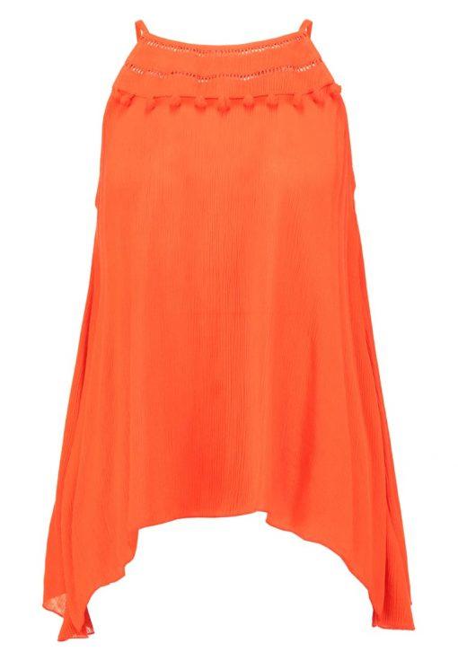 Dorothy Perkins POMPOM HANKY Top orange