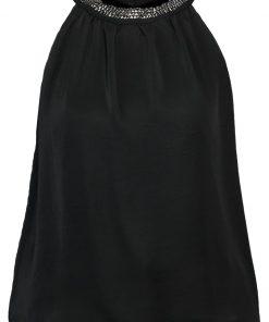 Dorothy Perkins CUT AWAY HEM Blusa black