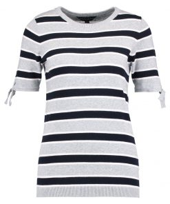 Dorothy Perkins STRIPE Camiseta print light grey