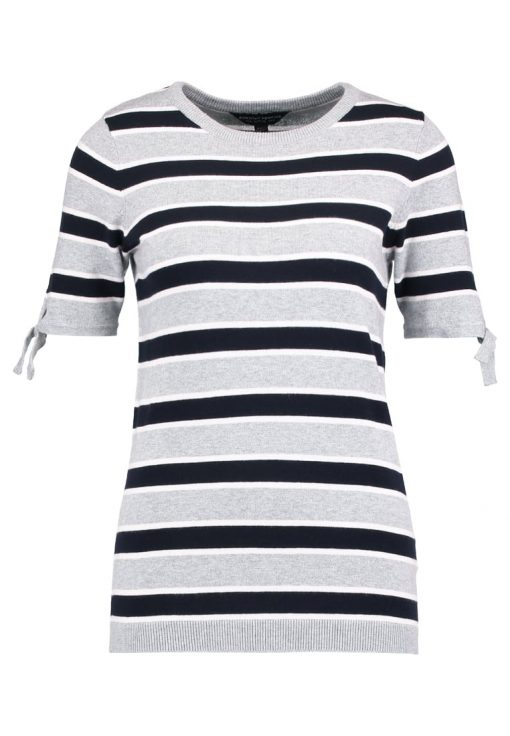 Dorothy Perkins STRIPE Camiseta print light grey